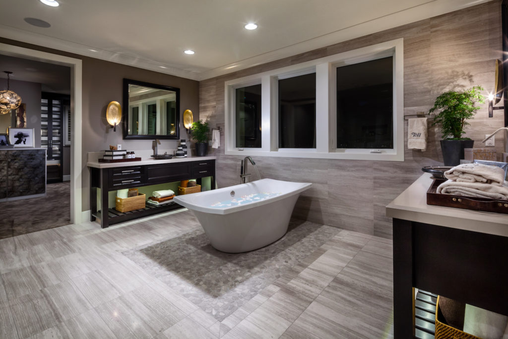 luxury homes Westcliffe at Porter Ranch, CA