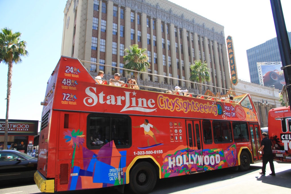 Hollywood CA best tours list