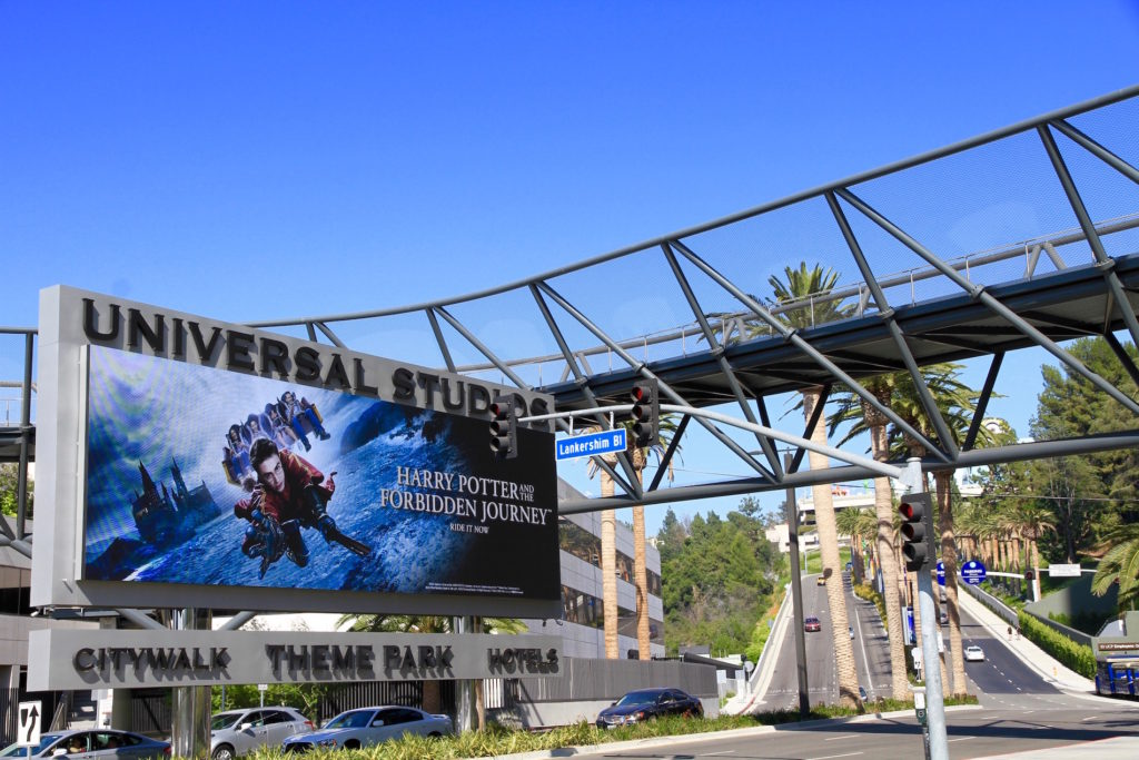 best theme parks in Hollywood CA
