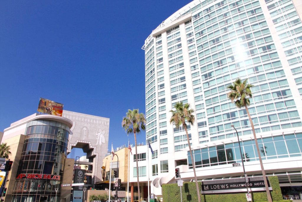 Hollywood CA best hotels
