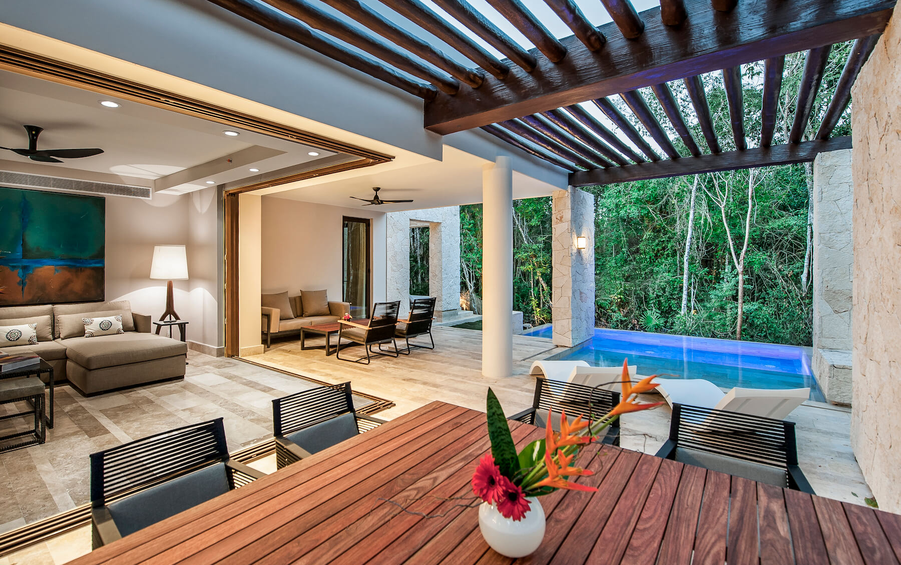 Fairmont Residences Mayakoba Mexico