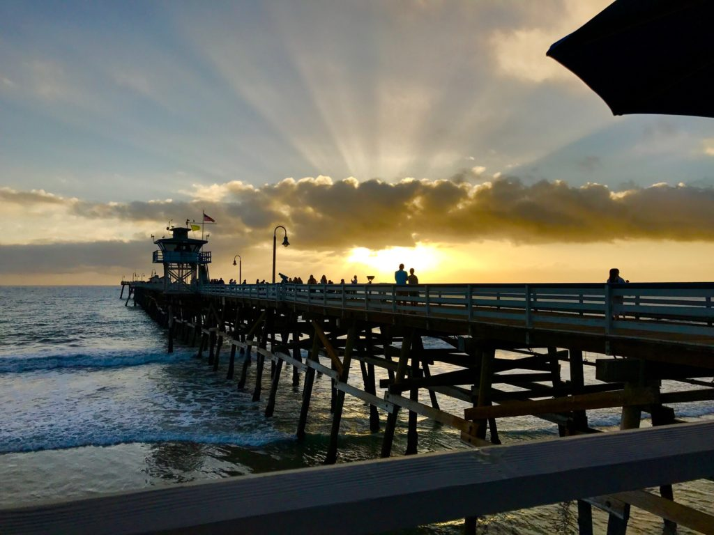 romantic things to do in San Clemente