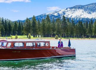 Tahoe Beach Club Lake Boat