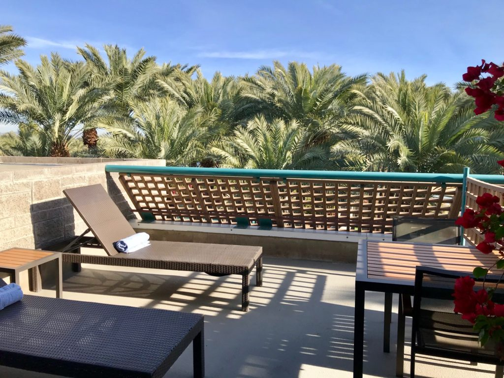 Hyatt Balcony in scottsdale