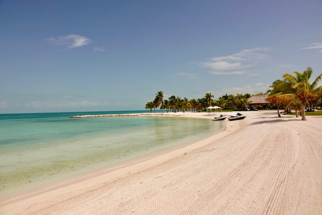 Caye Chapel Beach
