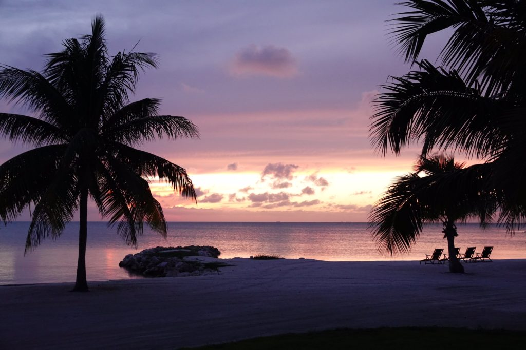Caye Chapel Sunset